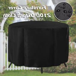 128cm Waterproof Patio Table Furniture Cover Garden Shelter