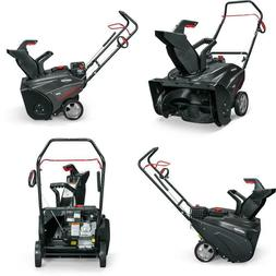 22 In. 127 Cc Single Stage Gas Snow Blower No Gas Walkway Pa