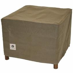 - Duck Covers Essential Square Patio Ottoman or Side Table