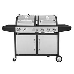 Royal Gourmet 3-Burner Gas Grill and Charcoal Grill Combo