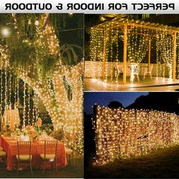 300 LED 3M 9.8ft String Fairy Curtain String Lights Outdoor