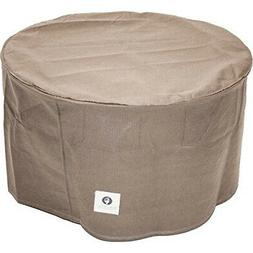 - Duck Covers Elite Round Patio Ottoman or Side Table