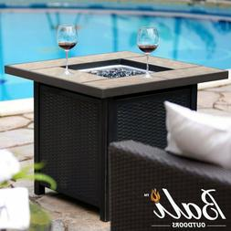"""32""""LPG Propane Gas Fire Pit Table Fireplace Patio Heater Out"""