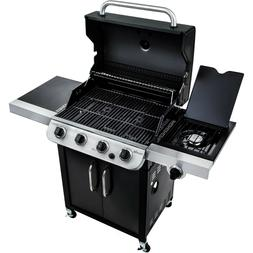 CHAR-BROIL 4 BURNER GAS GRILL - ALL BLACK