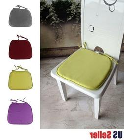 4-Pack Home Office Kitchen Patio Chair Seat Pad Mat Cushion