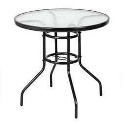 """32"""" Round Outdoor Dining Table Outdoor Dining Table Round Gl"""