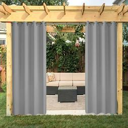 """50""""x120"""" Outdoor Curtains Panel for Porch Patio,UV Ray"""