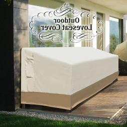 """90"""" Large Patio Sofa Loveseat Bench Cover Chair Furniture Pr"""