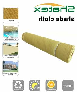 Shatex 90% Heavy Shade Fabric Roll for pergola cover,patio c