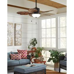 Home Decorators Collection Palm Cove 52 in. Natural Iron Cei