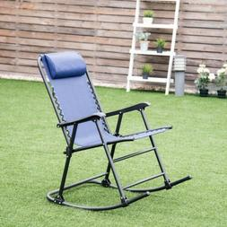 Best Choice Products Folding Rocking Chair Rocker Outdoor Pa