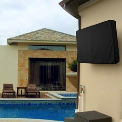 """Black 30""""-58""""Inch TV Cover Outdoor Patio Flat Television Pro"""