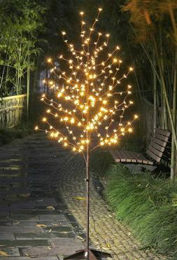 Blossom Tree LED Lights Indoor Outdoor Patio Porch Lawn 6 Ft