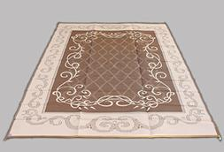 Reversible Mats 199127 Brown and Beige Patio Outdoor Camping