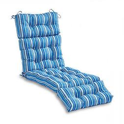 Greendale Home Fashions 72-inch Outdoor Chaise Lounge Cushio