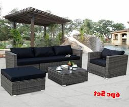 Patio Furniture Sets Clearance Rattan Wicker Small Sectional