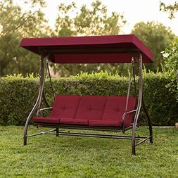 Best Choice Products 3-Seat Converting Outdoor Patio Canopy