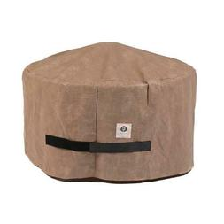 Duck Covers Elite Round Fire Pit Cover Water Resistant Outdo