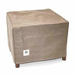 """Duck Covers Essential 26"""" Square Patio Ottoman or Side Table"""
