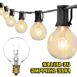 Extendable indoor outdoor Glass String Lights Warm White Pat