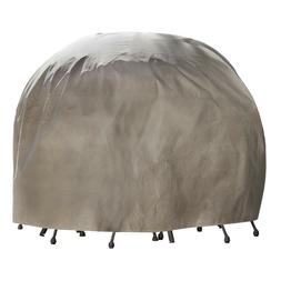 Duck Covers Heavy Duty Durable Round Patio Table With Chairs