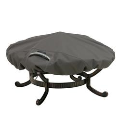 Classic Accessories Heavy Duty Patio Round Fire Pit Cover, R