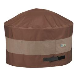 Duck Covers Ultimate Waterproof Patio Round Fire Pit Cover