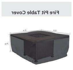 Heavy Duty Patio Fire Pit Tables Chairs Sofa Waterproof Outd