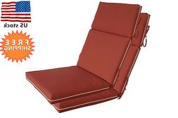 Bossima Outdoor/Indoor Cushions Patio High Back Chair Seat P
