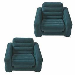 Intex Inflatable Pull Out Chair and Twin Bed Air Bed Mattres