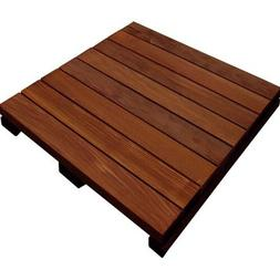 Ipe 24 x 24 deck and patio wood tile