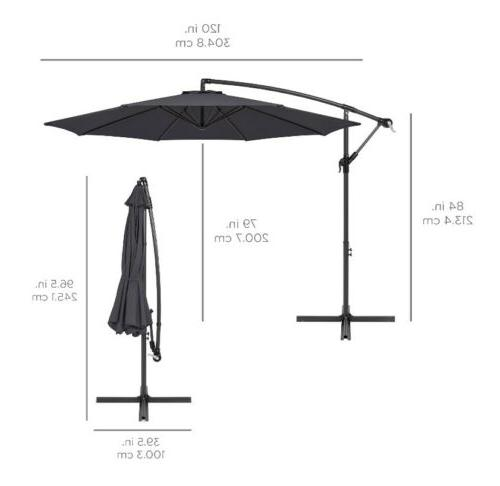 Best Offset Market Patio Umbrella