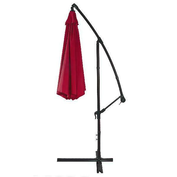 Best Choice 10ft Offset Hanging Outdoor Patio Easy T