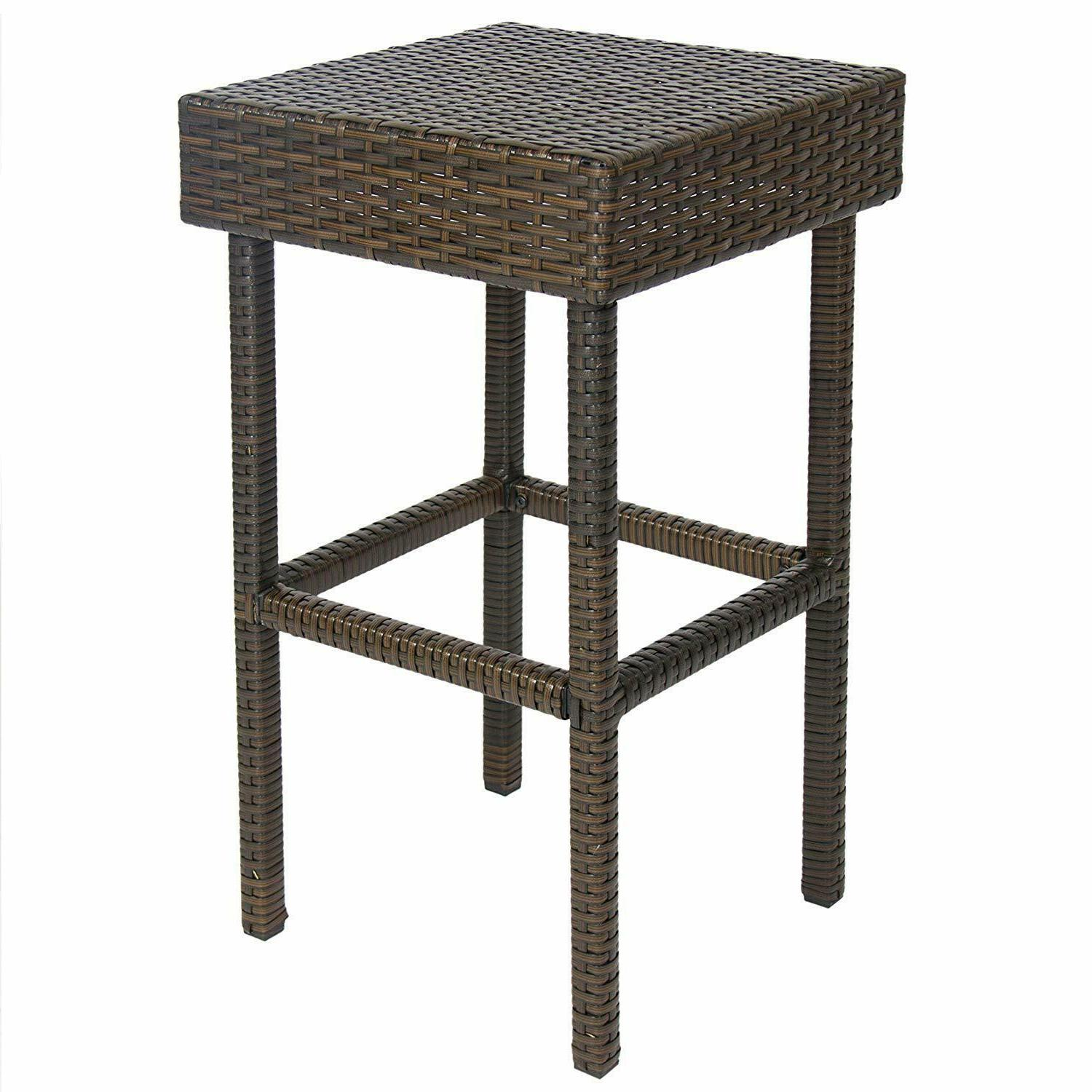 Best Choice Products All-Weather Wicker Table
