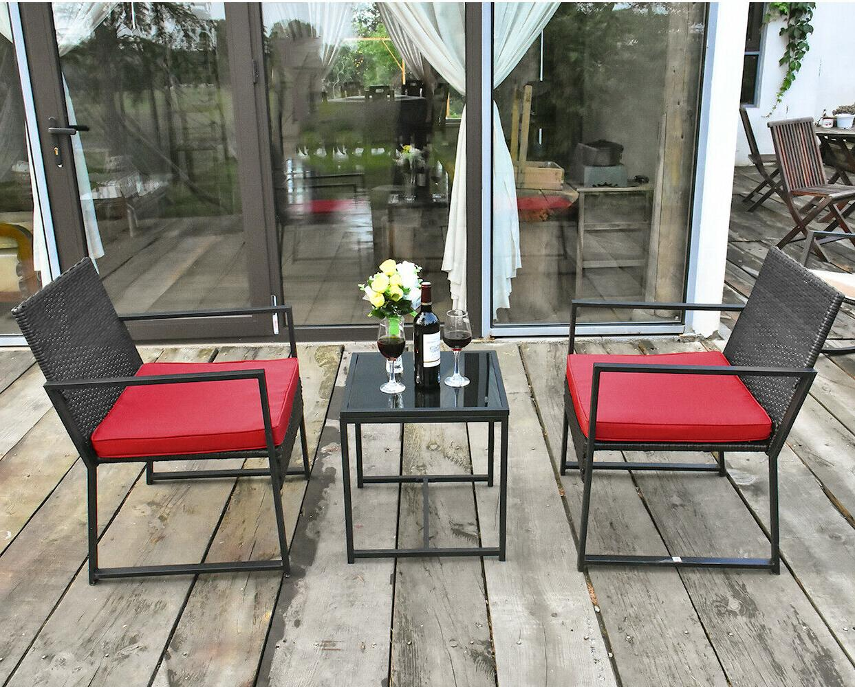 3 Patio Rattan Chair with