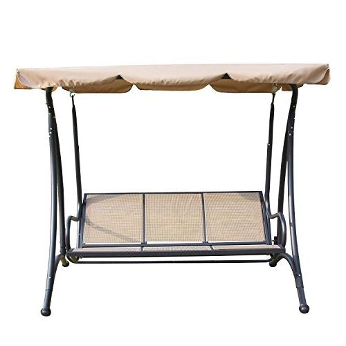 Outdoor 3 seat Swing Chair Seat