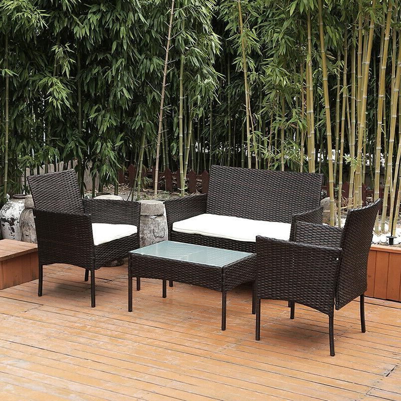 Patio Furniture Outdoor Rattan Sofa Table