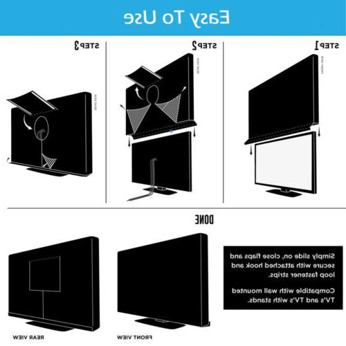 """40""""-65"""" Cover Patio Flat LCD Screen"""