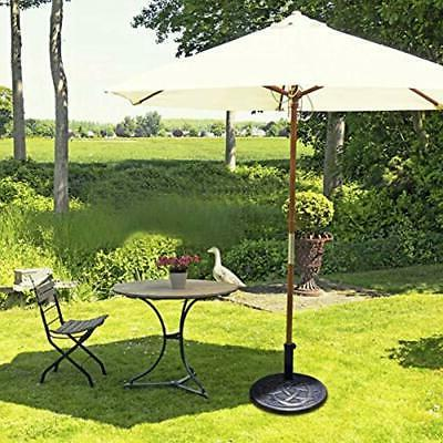 43lbs Base, Heavy Duty Outdoor Stand, Iron For