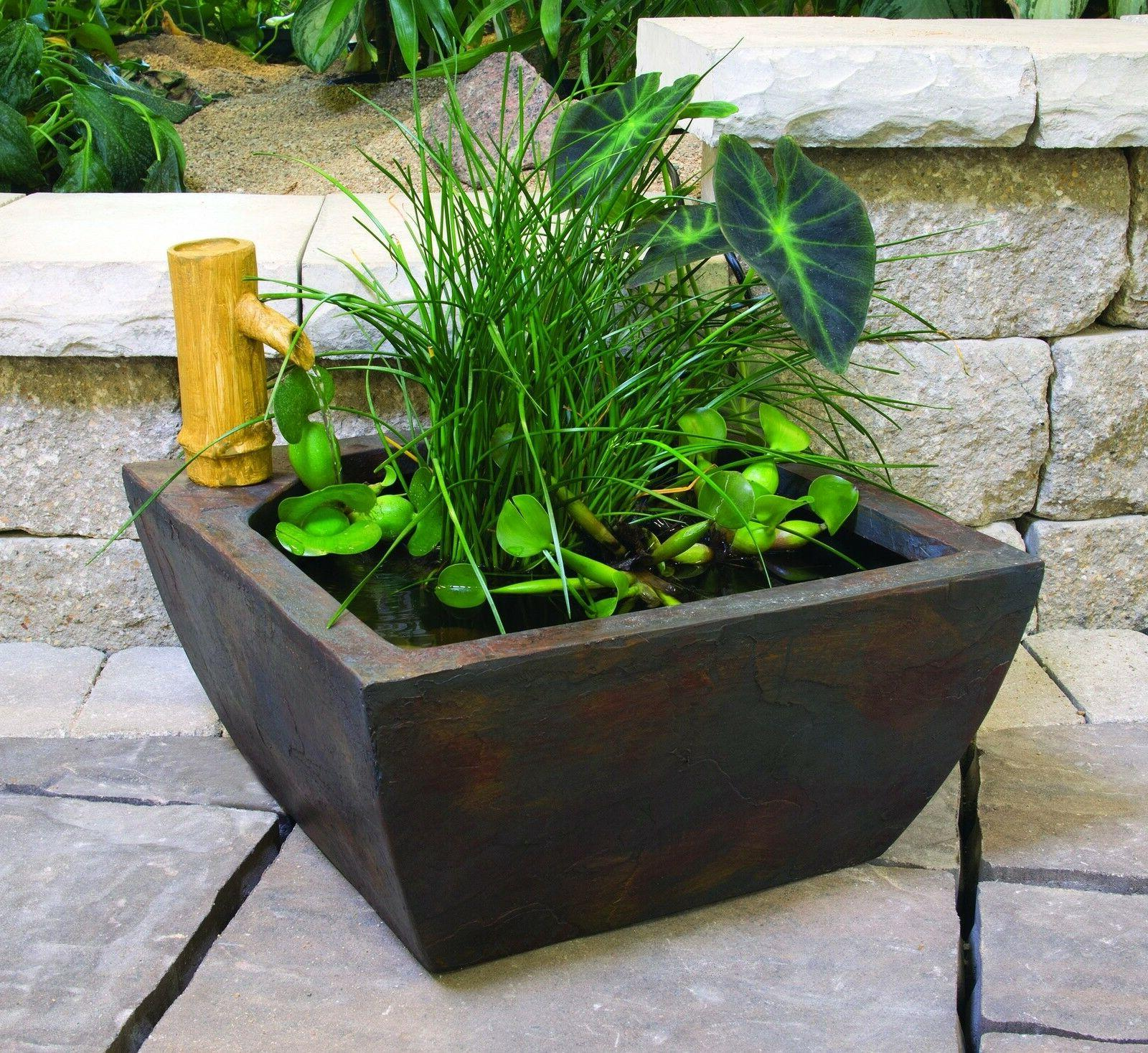 "Aquascape 78197 Patio Kit 16"" square-water feature"