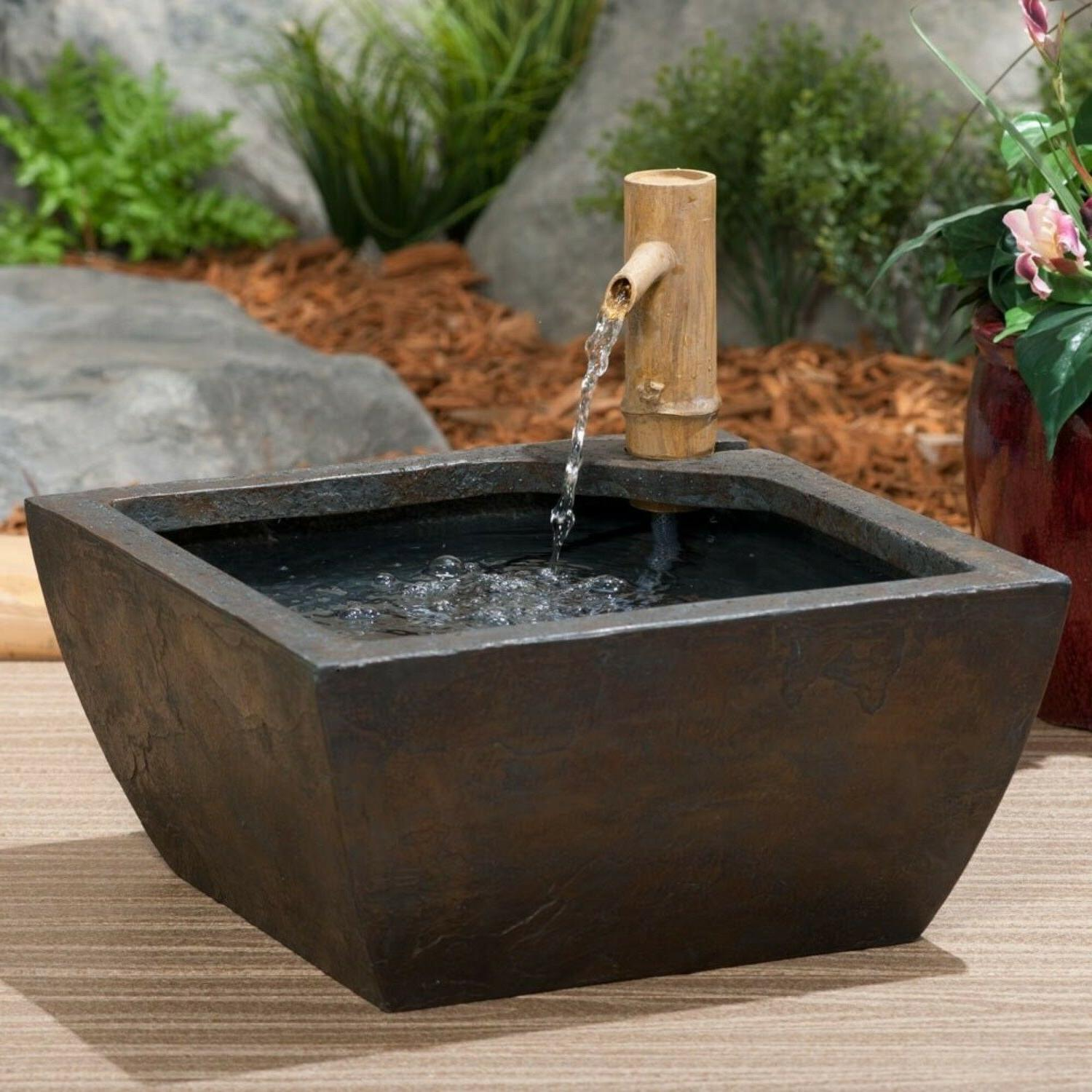 Aquascape Patio Kit square-water