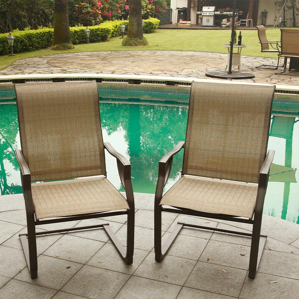 Motion Chairs Set Lawn