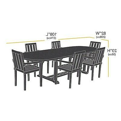 Table and Set Patio Cover - Large