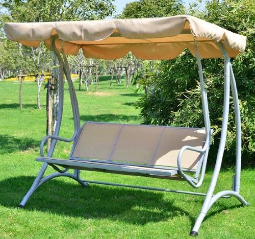 Outsunny Covered Swing with Sand