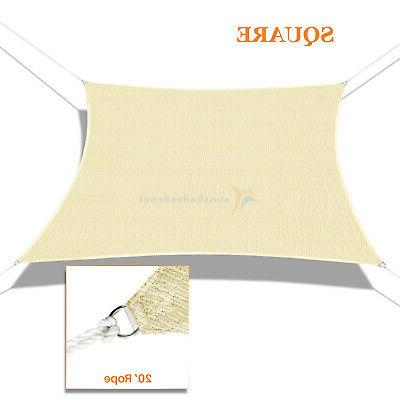 Custom Beige Canopy Cover Rectangle Square