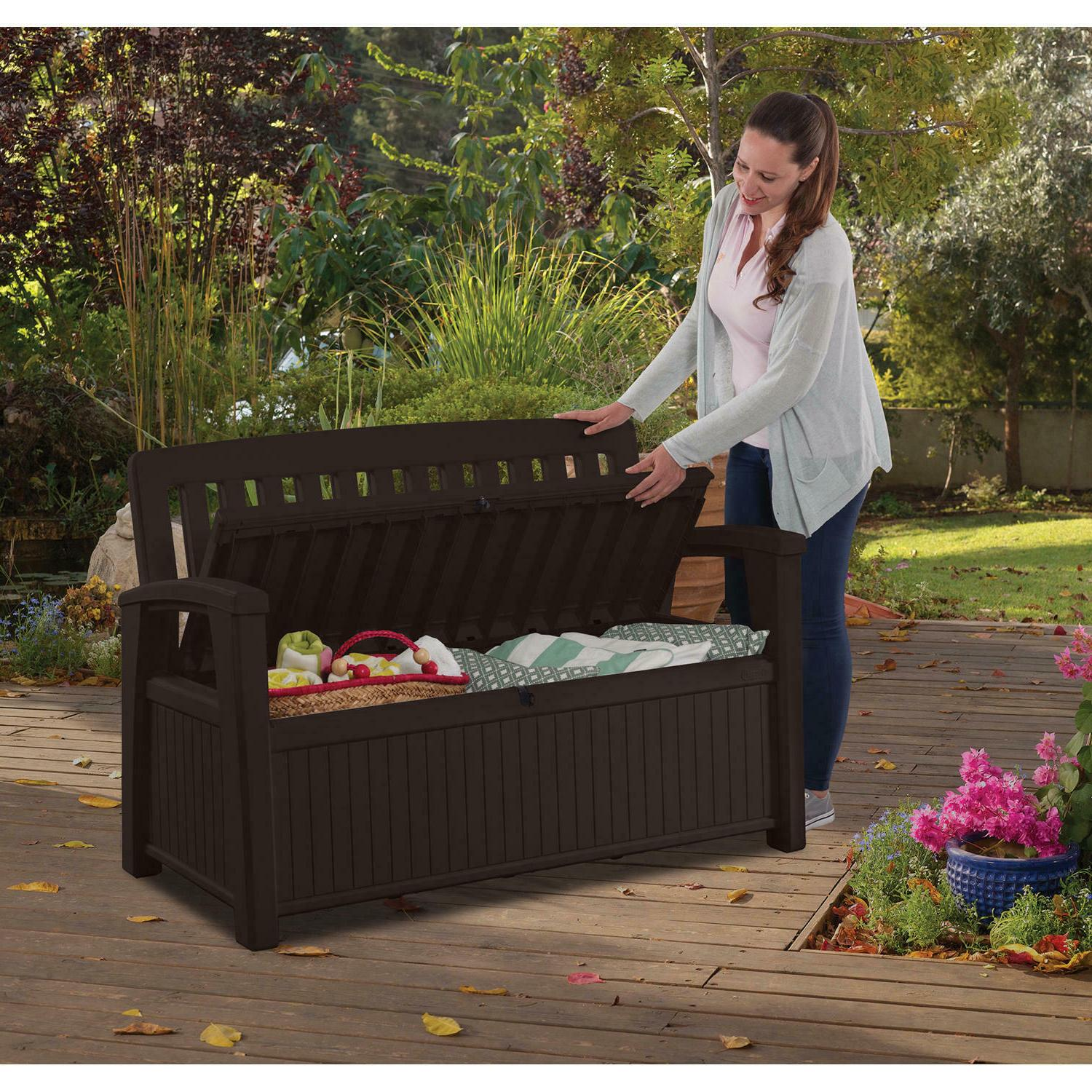 Keter deck All-Weather Outdoor Bench
