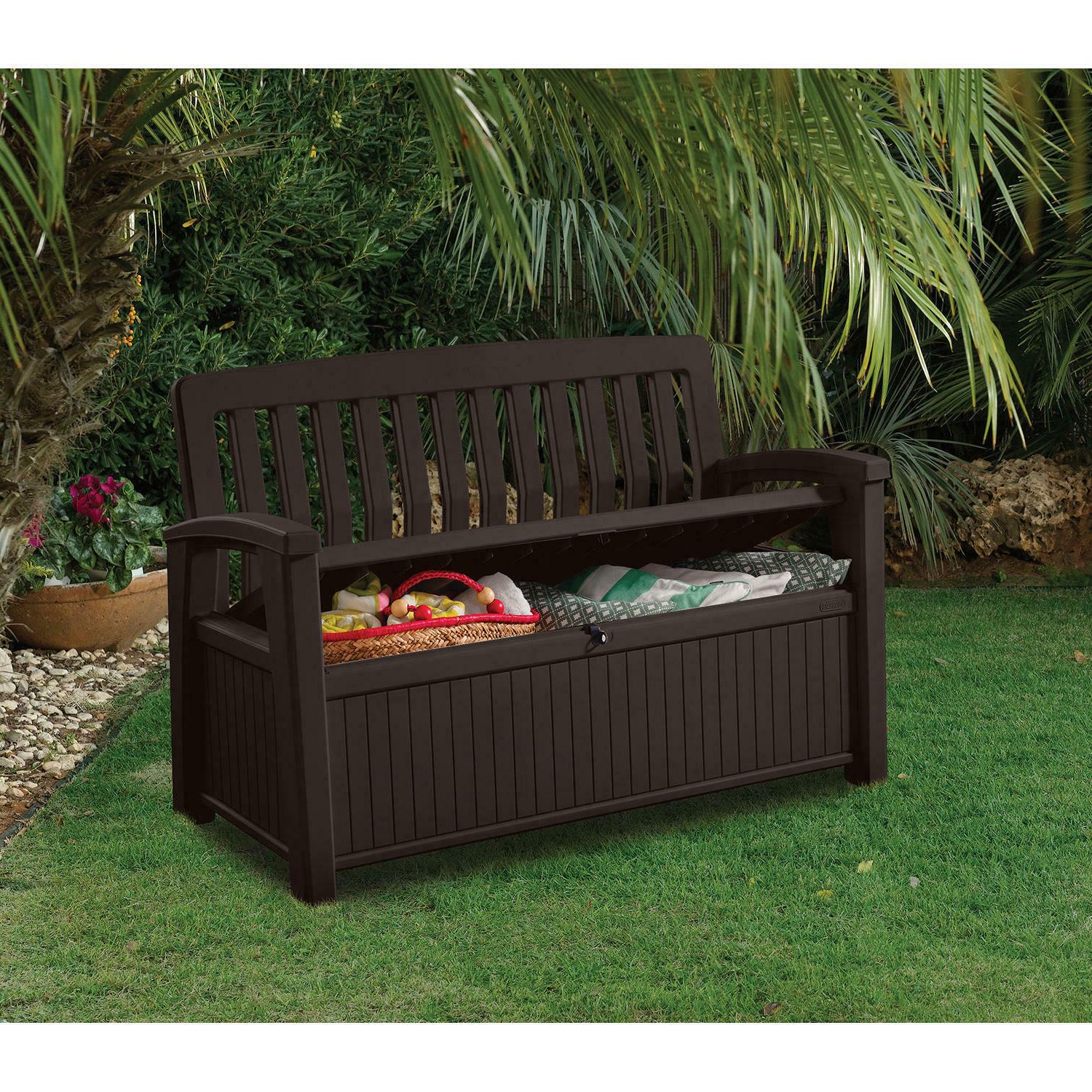 Keter box All-Weather Outdoor Patio Bench