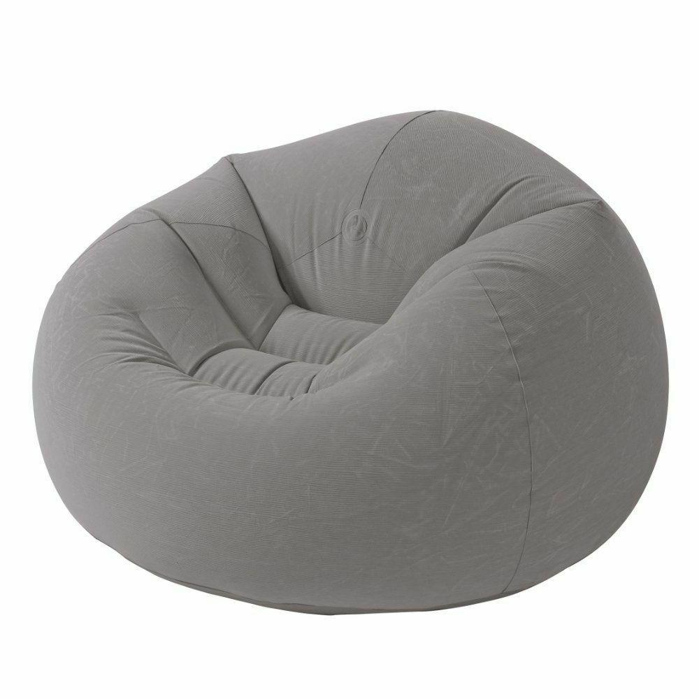 Dorm Chair Beanless Bean Bag Lounge Inflatable Seat Gaming R
