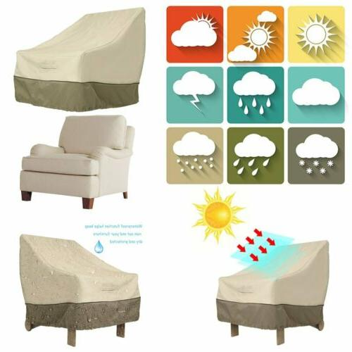 Garden Patio Waterproof Furniture Chair Cover Home