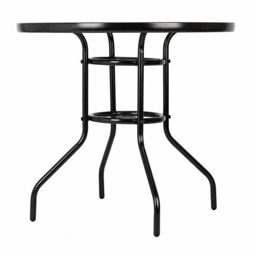 Garden Table Round Dining with Hole